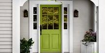 Front Door Design / Front doors that make a fabulous first impression.