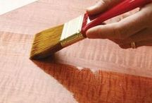 Wood Staining & Refinishing / Our expert advice for refinishing furniture, floors and more