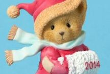 Cherished Teddies 2014 Christmas / Cherished Teddies 2014 Christmas Ornament. Shop for your Cherished Teddies 2014 Christmas Ornaments at CollectibleShopping.com. Also available the Cherished Teddies Annual Santa Figurine and the Cherished Teddies 2014 Dated Figurine. #cherishedteddies #christmas #dated2014 #ornaments