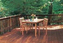 Decks, Porches & Patios / Great ideas and good-to-know tips for creating your own outdoor oasis