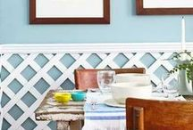 Molding, Trim &  Wainscoting / Looks to love and DIY instruction.