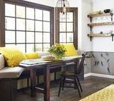 Kitchen Nooks / Clever ways to carve out and create handsome and hardworking spaces in your kitchen