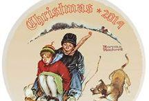 Norman Rockwell 2014 Christmas / Norman Rockwell 2014 Christmas Plate, Norman Rockwell 2014 Ornament and all Norman Rockwell 2014 Christmas at CollectibleShopping.com. Make this Christmas a Norman Rockwell Christmas. #NormanRockwell #Christmas #2014 #Dated #Ornaments #Gifts
