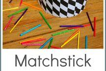 Destreza manual / Materiales variados de distintas metodologías (TEACCH, Montessori, DIY)