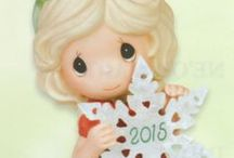 Precious Moments 2015 Ornament / Find the Precious Moments 2015 Christmas Ornaments and 2015 Dated Figurine at www.CollectibleShopping.com. The first ship date for the annual dated ornaments will be at the end of July! Order your Precious Moments 2015 Christmas Ornaments today! #PreciousMoments #Christmas #Ornament #2015 #Dated
