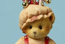 Cherished Teddies 2015 Christmas / Cherished Teddies 2015 Dated Christmas Ornaments and Cherished Teddies 2015 Dated Christmas Figurine. Also available is the Annual Santa Series figurine. We have the new 2015 Cherished Teddies Christmas Ornaments and Dated Figurine available to order at www.CollectibleShopping.com. #CherishedTeddies #2015 #Christmas