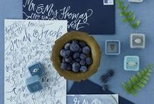 Blueberry Brunch Wedding Styled Shoot / Inspiration board for styled brunch wedding shoot