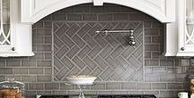 Tile Design & DIY / Tile trends and installation techniques you'll want to incorporate in your next kitchen or bathroom renovation.