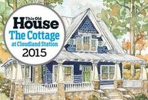 2015 TOH Idea House Inspiration / See the architectural styles, decor choices and products that influenced This Old House and designer Yvonne McFadden in the design of our 2015 Cottage at Cloudland Station--to be revealed in early November! / by This Old House