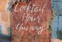 Friday Cocktails / Inspiration for Cocktails with Hors d'oeuvres food pairings. No dinners, just small limited time gatherings.