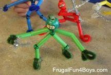 Crafts For Kids / Fantastic crafts for kids of all ages.