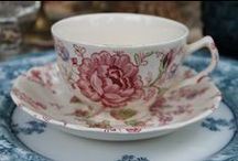 China - Vintage Teacups and Teapots - Southern Vintage Wedding Rentals / Our lovely china teacups and teapots are available to rent for tea party, vintage party or wedding / by Southern Vintage