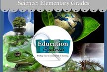 K-5 SCIENCE / Science lessons, games, science experiments and notes for Kindergarten through 5th grade.  If you would like to start pinning education ideas on this board, send me an email at EducationContessa@gmail.com with your Pinterest name. Pinners - limit your product pins to no more than 3 a day and they must be on the topic of the board. Pin as many ideas and freebies as you want.