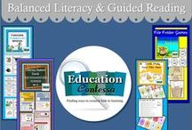 BALANCED LITERACY - GUIDED READING STATIONS / Language Art ideas, library centers, comprehension, fluency.  If you would like to start pinning education ideas on this board, send me an email at EducationContessa@gmail.com with your Pinterest name. Pinners - limit your product pins to no more than 3 a day and they must be on the topic of the board. Pin as many ideas and freebies as you want.