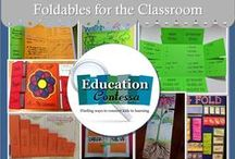 FOLDABLES FOR THE CLASSROOM / Foldables for elementary and middle school classrooms