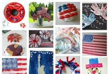 Everything 4th of July  / 4th Of July Crafts , 4th of July Food, 4th of July Decorations  / by Allison @ No Time For Flash Cards