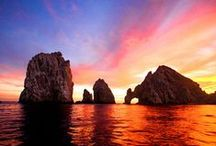 For the: Horizon Lovers / There's nothing like watching the sunrise or set in Los Cabos. http://www.visitloscabos.travel / by Los Cabos Tourism