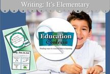 WRITING - IT'S ELEMENTARY / Writing, journaling, story writing, letter writing, book reports, biographies and more for elementary and middle school students.   If you would like to start pinning education ideas on this board, send me an email at EducationContessa@gmail.com with your Pinterest name. Pinners - limit your product pins to no more than 3 a day and they must be on the topic of the board. Pin as many ideas and freebies as you want.