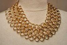 chainmail jewelry / handmade chain mail jewelry