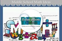 MIDDLE SCHOOL MATH IDEAS / 6th, 7th and 8th grade foldables, interactive notes, links to good websites and math fun.  If you would like to join this board, just follow and email me at EducationContessa@gmail.com to let me know which boards you would like to join. Be sure to include your Pinterest address.