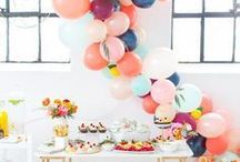 Party Inspiration / Throwing a party? Check out these creative party ideas, themes, crafts and recipes.