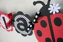 I plan birthday parties - Ladybugs