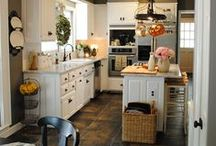 "Kitchens to Inspire / Kitchens / by ""The Whimsical Lady"""