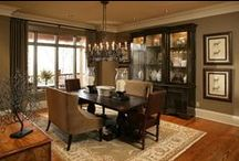 "Dining Rooms / Dining Rooms and Dining Room Details / by ""The Whimsical Lady"""