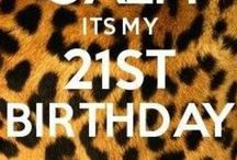 21st Birthday Bash / by Brenna Lanhart