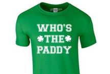 St. Patrick's Day T-Shirts / Drink Until your Irish and get some green on you with our funny St. Patrick's Day T-Shirts. With plenty of shamrocks, even if you're not from the emerald isle you can celebrate on the 17th March.