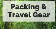 Packing & Travel Gear / There is an art form to having a well-packed bag and the right travel gear. Use these packing tips, packing lists and gear guides to help you pack it right