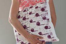Pattern / Screen print textile zeefdruk textiel design