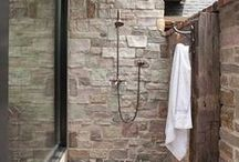Square Fox   loves an Outdoor Shower