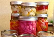 Canning, preserving, pickling, smoking / Preserving the bounty. Saving the good stuff in season. What to do when the garden explodes. / by Patsy Bell Hobson