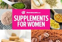 Supplements for Women / by Bodybuilding.com