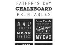 Father's Day / We love daddy.