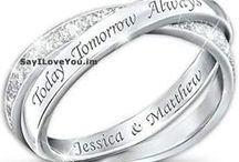 Diamond Promise Rings for Couples in Love / Loves Promise Rings Eternal with these diamond promise rings, heart shaped promise rings, gold promise rings, promise rings for her under 50, 100, & 200 dollars. / by Birthday Ecards