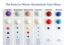 Satin Ice Colors & Exclusive Color Mix Palettes / by Satin Ice