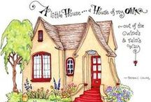 It's always been the fairytale cottage not the castle / by Dana Steiner