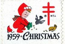 Christmas Cards Vintage / Vintage Christmas Images / by Dana Steiner