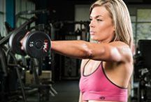 Shoulder Workouts / Upper and lower back workouts.