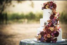 Wedding Fall / Weddding cakes for the Fall Season.