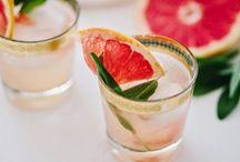 C H E E R S ! / Beverage Ideas —usually boozy. Cheers!