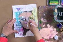 Tegne, skrive, fargelegge