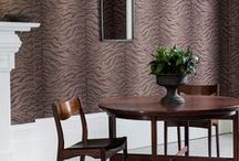 Trend: Animal Print / Forget what you know about textured wallpaper. Gone are the days of woodchip and 3D plaster, today's interior design offers a far more fashion-forward style.