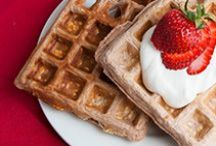 Breakfast Recipes / Our recipe database has over 1,300 listings of what you need for inspiring a healthy breakfast menu or new meal ideas.  / by Bodybuilding.com