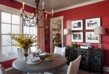 Colour Spotlight: Red / From deep maroon shades to show-stopping scarlet accents, red is a versatile colour that looks fabulous in any home.   Whilst you may be somewhat afraid of using such an energetic colour in your home, the stylistic versatility of this beautiful hue cannot be ignored.