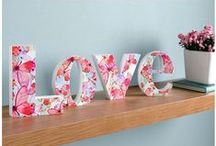 Love is in the air / Gifts, accessories and ideas for bringing love into your home this Valentines weekend  / by Graham & Brown
