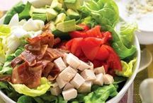 Cobb Salad and Vegan Cobb Salad / The perfect meal. Traditional recipes and many varieties to  accommodate any diet or occasion.