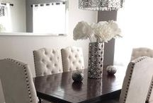 Dining Room Inspiration / All that will be left to say is Bon Appetite with these Dining Rooms.